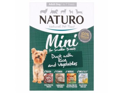 Naturo Dog Adult Duck & Rice with Vegetables 150 g