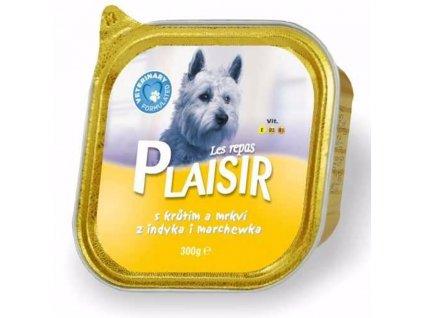 Plaisir Dog krůtí, vanička 300 g