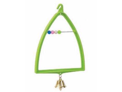 Houpačka s počítadlem a zvonečkem 11,5 x 19 cm