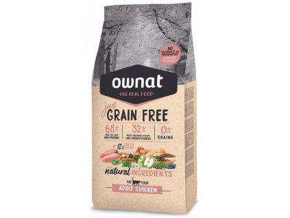OWNAT Cat Just Grain Free Adult Chicken 3 kg