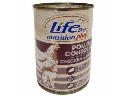 LifeDog Chicken and Rabbit 400 g