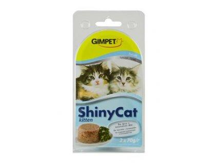 Gimpet kočka konz. ShinyCat  Junior tuňák 2x70g