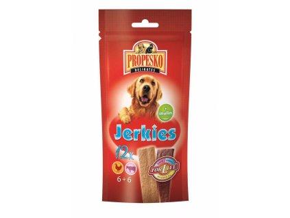 PROPESKO Dog Jerkies hovězí pamlsek (12 ks)