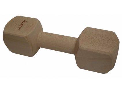 Aportovací činka dřevěná JUKO L 650 g