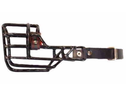 Náhubek černý/kov anglický bulterier, fena
