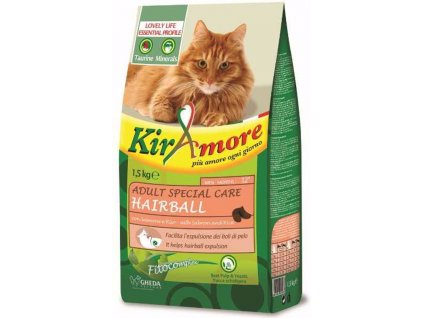 Kiramore Cat Adult Hairball 1,5 kg