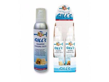 GILLS Dry suchý pěnový šampon 250 ml