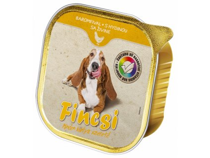 Fincsi Dog drůbeží, vanička 300 g