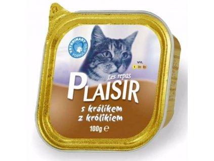 Plaisir Cat králičí, vanička 100 g