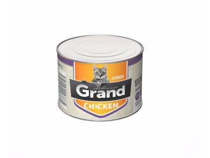 Grand deluxe Cat Junior 100% kuřecí 180 g
