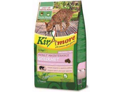 Kiramore Cat Adult Maintenance Gourmet 1,5 kg