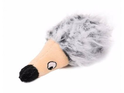 Hračka kočka - plyšový ježek s šantou