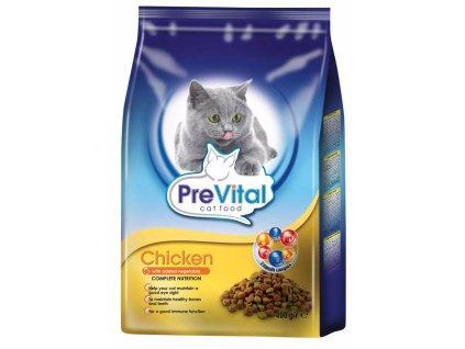 PreVital kočka kuřecí se zeleninou, granule 0,4 kg
