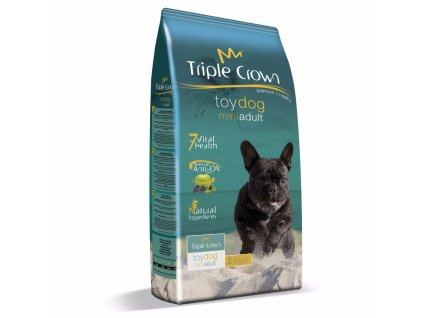 Triple Crown Dog Adult Mini Toy 2 kg