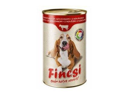 Fincsi Dog hovězí, konzerva 1240 g