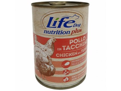 LifeDog Chicken and Turkey 400 g