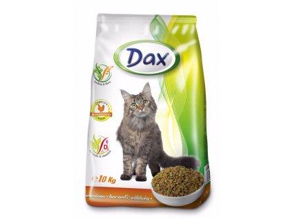 Dax Cat granule drůbeží se zeleninou 10 kg