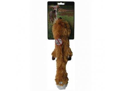 26735 hracka pes liska piskaci 38cm skinneeez