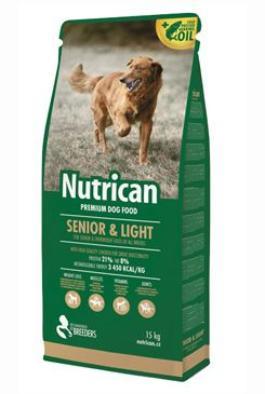 Canvit s.r.o. krmivo Nutrican Dog Senior & Light 3 kg