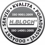 Jsme držitelé ISO 9001 a ISO 14001