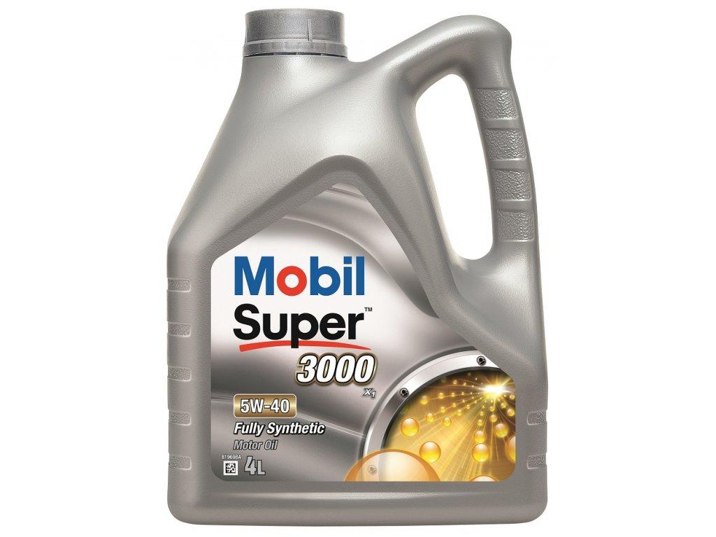 MOBIL SUPER 3000 X1 5W40 (4L)