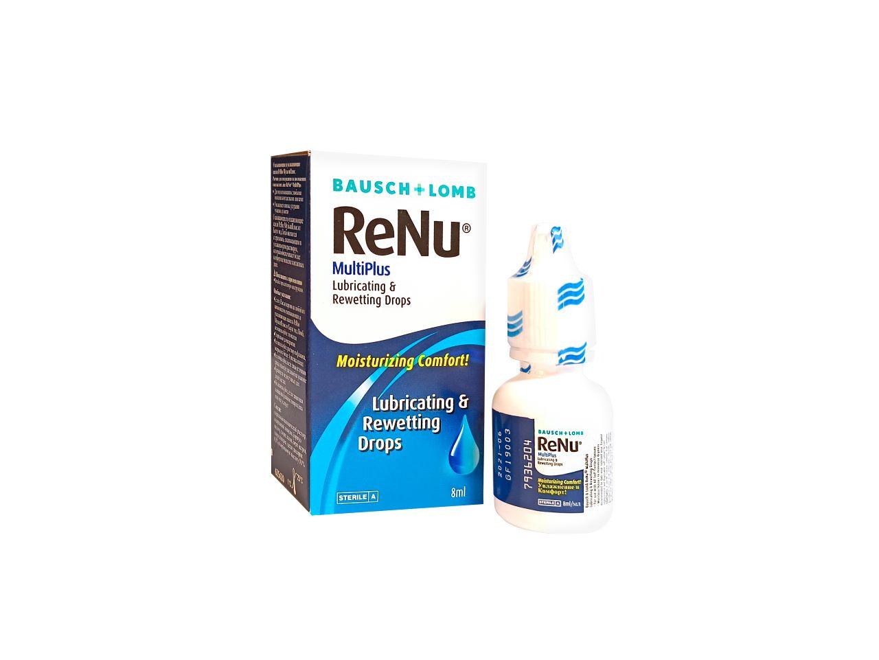 Bausch & Lomb Oční kapky ReNu MultiPlus 8 ml
