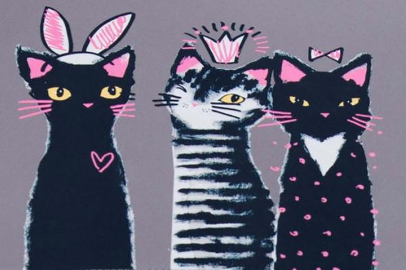 Ach ty kočky!
