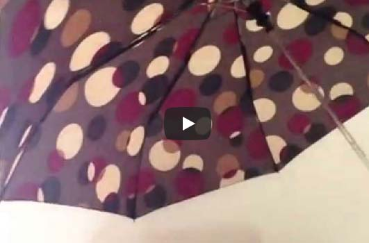 Video návod na automatický deštník