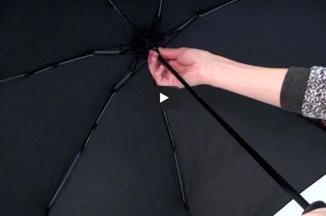 Video návod na manuální deštník