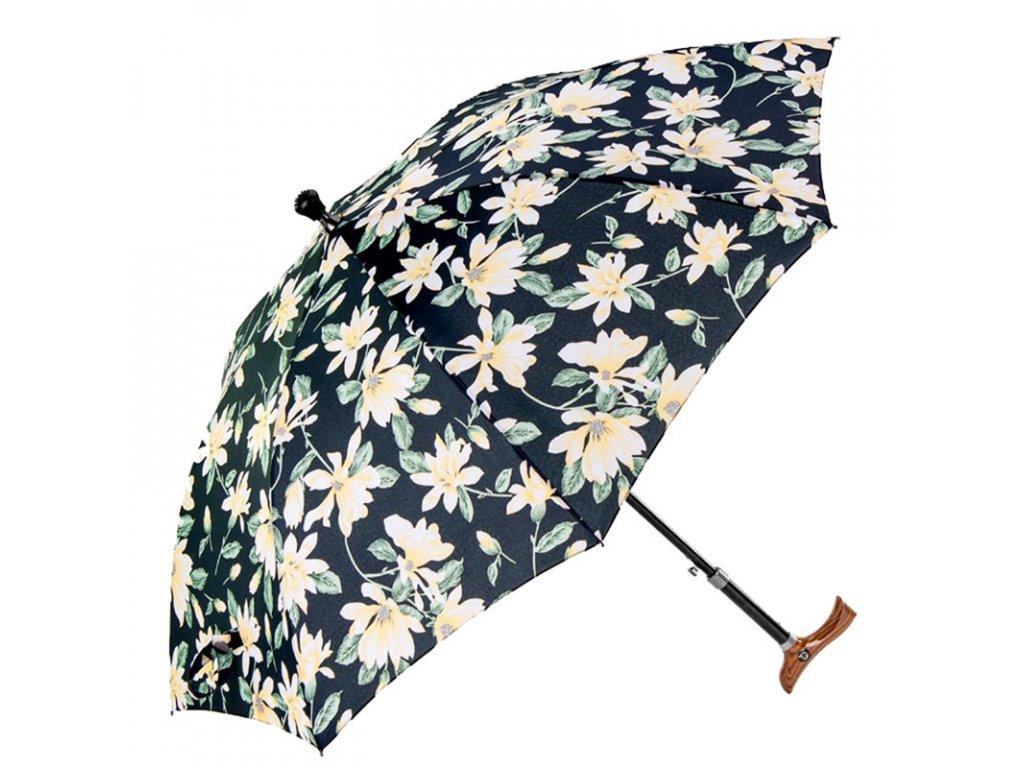 RSQ1912 Floral Walking Stics FC dámská vycházková hůl s deštníkem