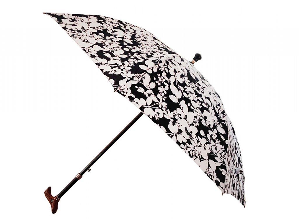 Dámský vycházková hůl s deštníkem