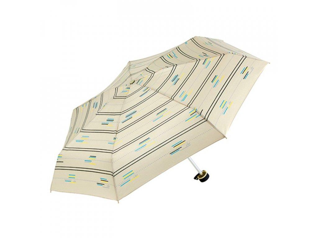 Cachemir Sofia Pack dámský skládací mini deštník v roztaženém stavu