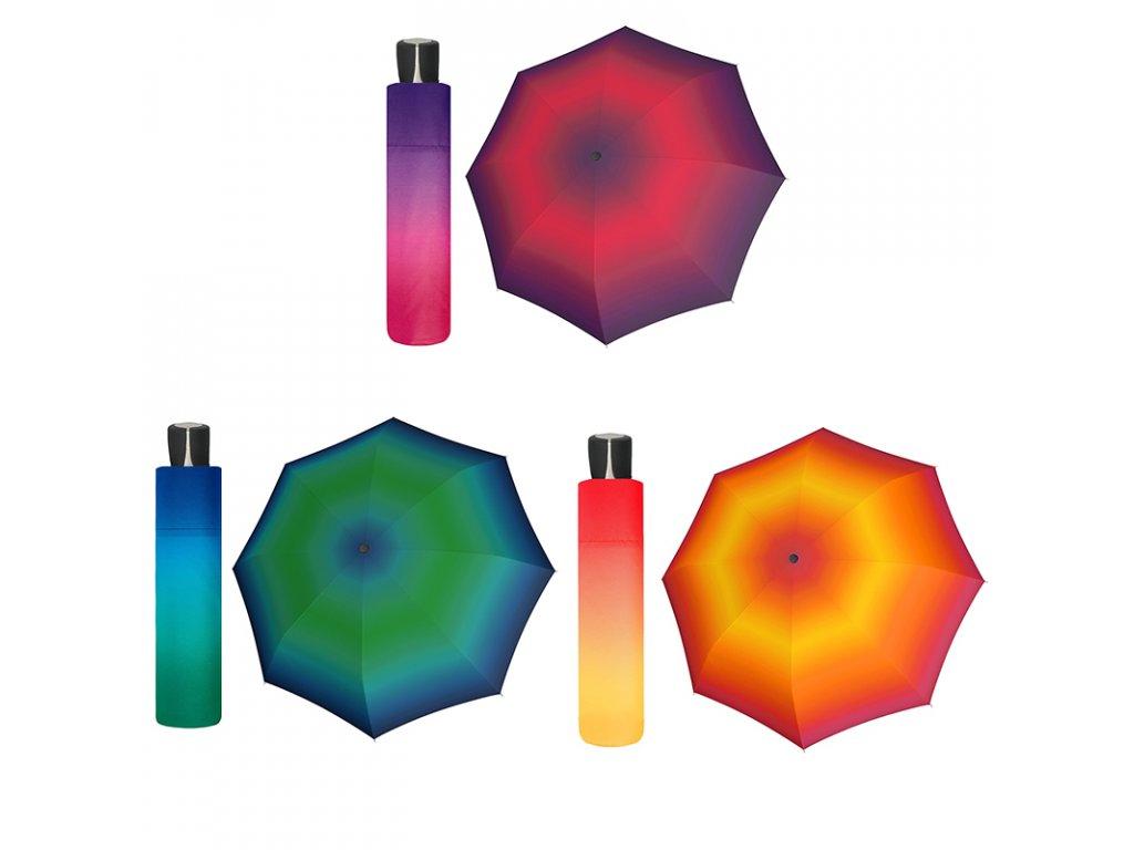 Doppler Mini Fiber New York dámský skládací deštník