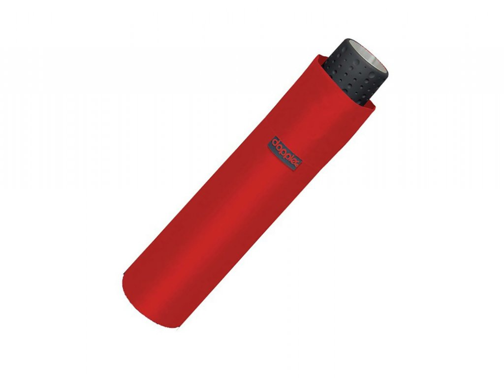 Deštník Doppler Havanna červený složený