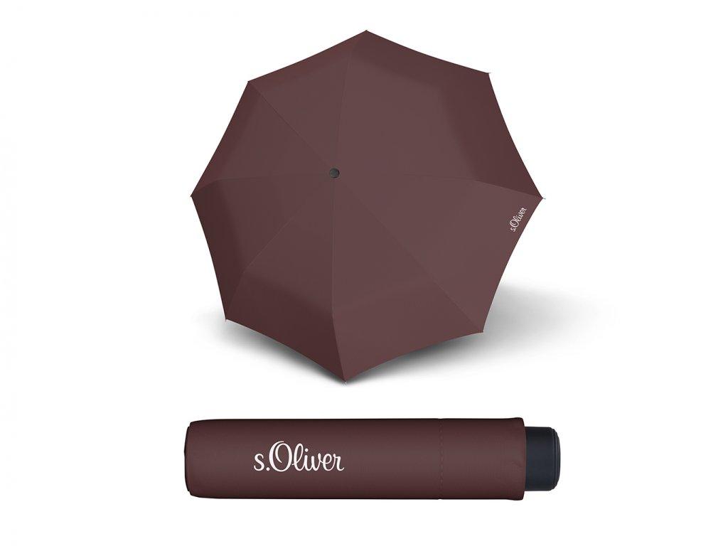 s.Oliver smart uni seasonal maron brown