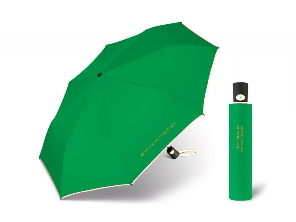 s.Oliver AC zelený s bílým lemem