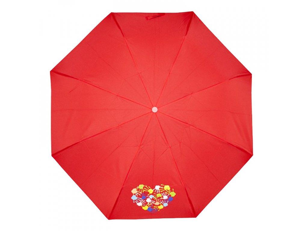 Derby Kid's Mini ruce červený dětský deštník