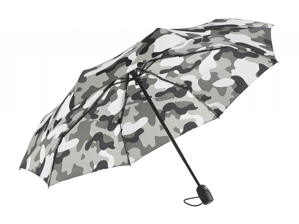 aoc mini taschenschirm fare camouflage grau kombi 5468 art 258 detail 2121 XL