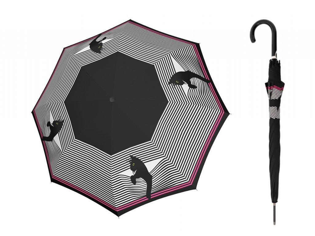 Doppler cozy cat deštník s kočkou