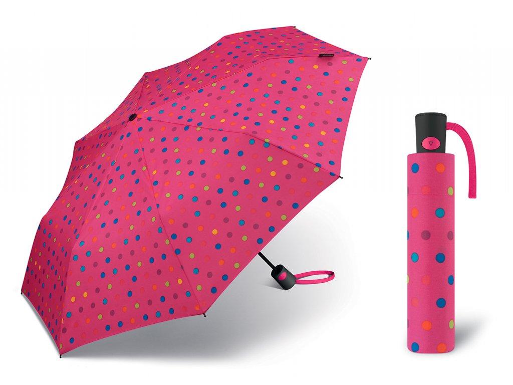 56834 Mini AC multidots pink offen