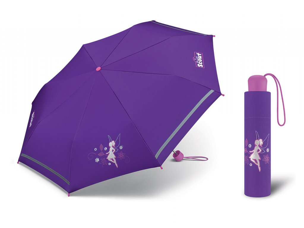 Dívčí deštník Scout Feenwald víla