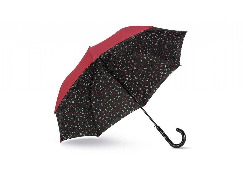 Cachemir Shapes luxusní dámský deštník s dvojitým potahem