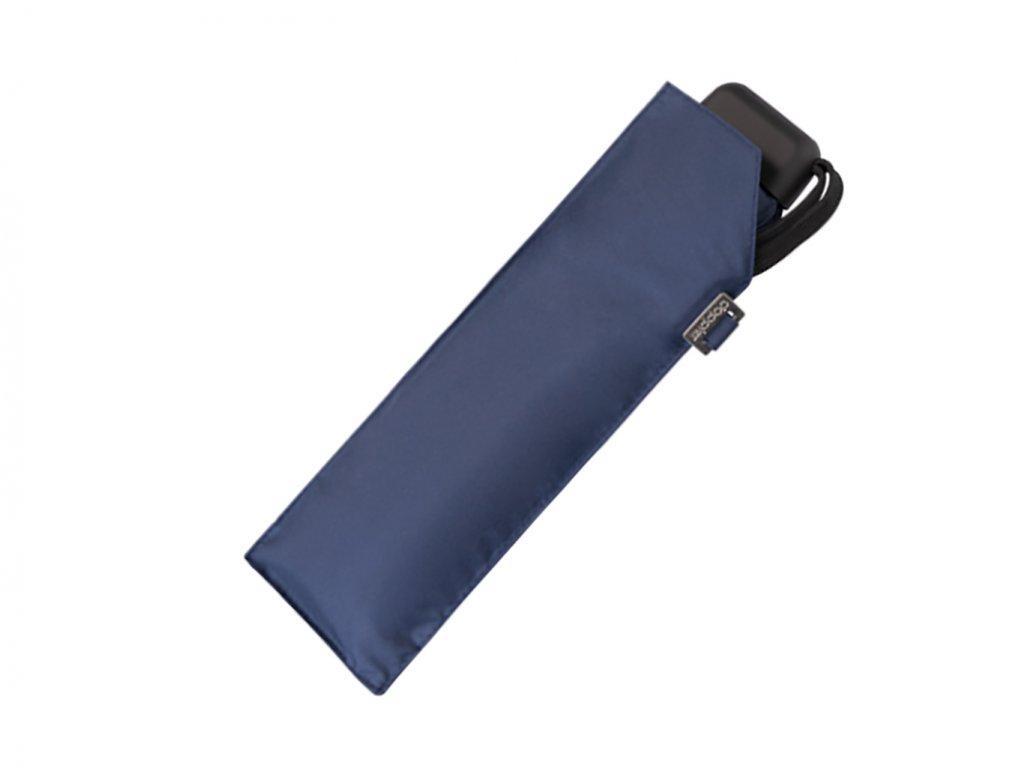dámský mini deštník doppler slim modrý