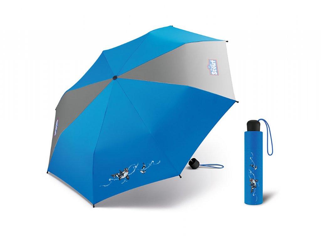 Scout Big Orca dětský deštník s obrázkem
