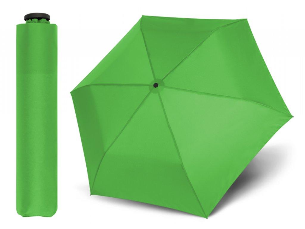 Doppler Zero 99 Sun zelený ultralehký deštník s UV ochranou proti slunci