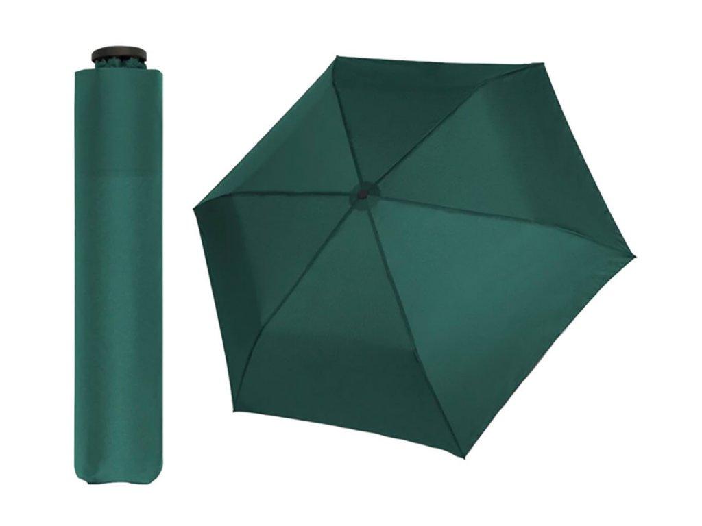 Doppler Zero99 zelený ultralehký skládací mini deštník