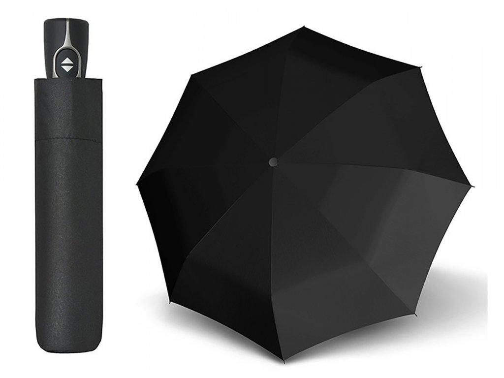 Doppler Magic Fiber černý plně automatický deštník