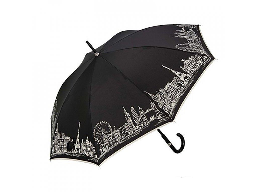 RSQ1912 Skyline luxusní dámský holový deštník