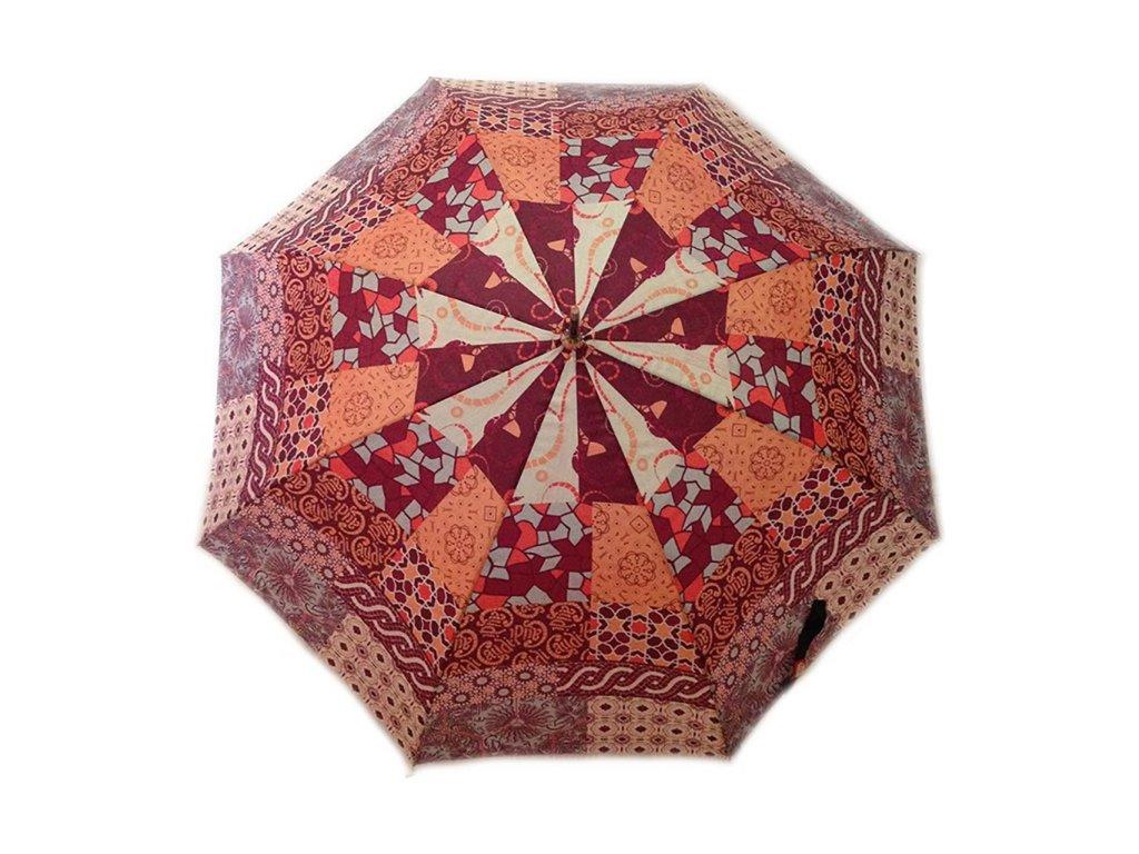 Gaudi Patchwork dámský holový deštník