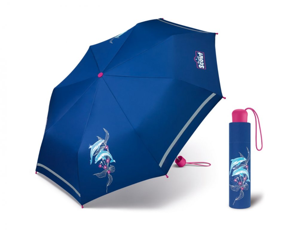 Dětský bezpečný deštník Scout florida